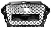 Für Audi A3 8V RS3 Look S line S3 tuning Frontgrill Kühlergrill Wabengrill #23