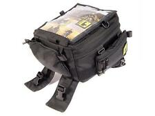 Wolfman Motorcycle Luggage - Rainier Tank Bag 17litres expands to 20L