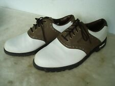 Footjoy Greenjoys Men'S Golf Golfing Shoes Size 8-1/2 M Width Excellent