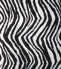 ZEBRA STRIPE Queen BEDSKIRT : BLACK WHITE ANIMAL TEEN DUST RUFFLE BED SKIRT