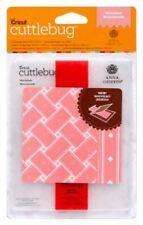 "Cricut Cuttlebug Anna Griffin MATELASSE 4.25"" X 5.5""  with border  New RARE"