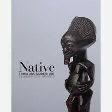 TRIBAL and MODERN ART - CONGO - VENTE NATIVE BRUSSELS - 23 JANUARY 2016