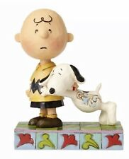 Jim Shore Peanuts Charlie Brown & Snoopy I'LL MISS YOU Figurine 4057676