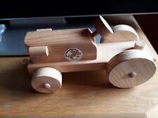 Holz Traktor Der Holzwurm Kinder Geschenk Spielzeug