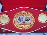 IBF International Boxing Championship Belt  Adult Size With Free Bag