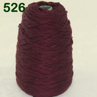 Sale New 1Cone 400g Soft Worsted Cotton Chunky Super Bulky Hand Knitting Yarn 26
