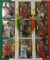Road Euro 2020 Adrenalyn Limited Edition set completo 9 rare Top Master Expert..