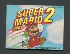 1988 Super Mario Bros. 2 NES Manual Only, No Game, Instruction Booklet