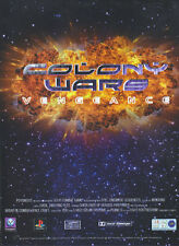 "Colony Wars Vengeance ""Playstation"" 1998 Magazine Advert #4335"