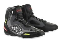 Alpinestars Faster 3 RideKnit Shoes Gr. 9=42 Motorradschuhe grey red yellow