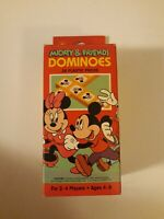 Dominoes Mickey and Friends by Golden The Walt Disney Co. 2-4 Players MISSING 1