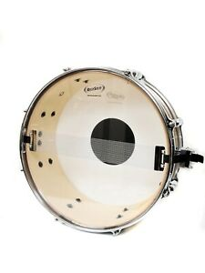 """RockSolid Resonant 14"""" Clear Snare Drum Head Skin"""
