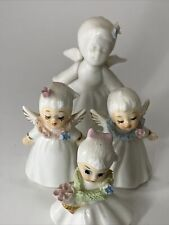 Lot Of 4 Small Vintage Angels. Napcoware Bone China.  (lot #3)