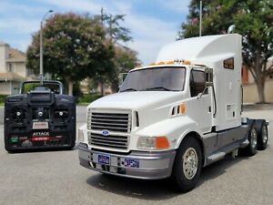 Built Tamiya R/C 1/14 Semi Ford Aeromax Semi Truck with Futaba ESC Servo 56309