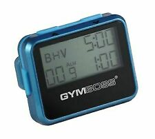 Gymboss Workout Interval Timer and Stopwatch Teal Blue Metallic Gloss