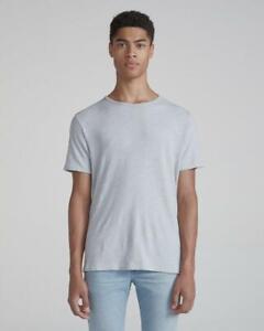 Rag & Bone Men's Classic Crew Neck Sleeve T-Shirt Size S Blue Grey RRP $300.00