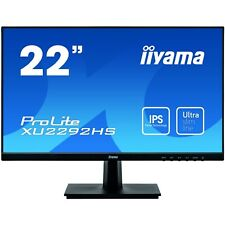 iiyama XU2292HS-B1 22 inch LED IPS Monitor - Full HD 1080p, 4ms, Speakers, HDMI