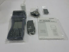 CASIO IT-3000 HAND-HELD PRINTER SCANNER TERMINAL W/BLUETOOTH # M53E New in Box