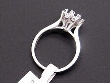 Tacori Platinum Round Cut Diamond Halo Engagement Ring HT2503RD Semi Mount