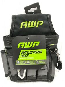 AWP ELECTRICIAN POUCH MINI WITH BELT CLIP & BELT LOOP
