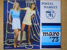 Catalogo Postal Market Mare 1973 con costumi uomo donna bambino - 16 pp [C48]