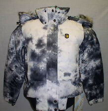 $249 NEW 1o.OOOmm GOOSE DOWN SPECIAL BLEND WOMENS FLUFF SNOWBOARD JACKET XS
