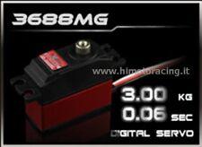 SERVO DIGITALE 3Kg BASSO PROFILO LOW PROFILE Power HD-3688MG INGRANAGGI METALLO