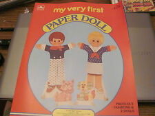 Golden's My Very First paper doll set Unused