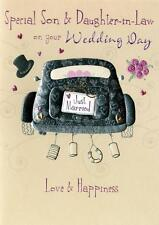 Son & Daughter-In-Law Wedding Day Greeting Card Second Nature Daydreams Cards