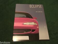 "1995 MITSUBISHI ECLIPSE 16 Pg SALES BROCHURE ORIGINAL MINT 8.5"" X 11"" (BOX 614)"