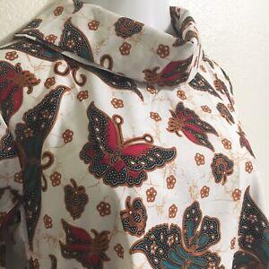 Indonesian Tunic Batik Dress