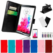 Unbranded/Generic Synthetic Leather Mobile Phone Cases, Covers & Skins for LG G3