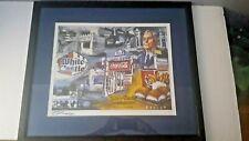 WHITE CASTLE COCA-COLA Framed Art Work signed by artist STEVE PENLEY