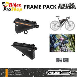 ORTLIEB Frame Pack - Bike Bicycle Frame Bag WATERPROOF MADE IN GERMANY 2021