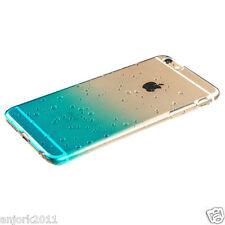 "iPhone 6 Plus (5.5"") Snap Fit Water Drop Back Cover Gradient Transparent Blue"