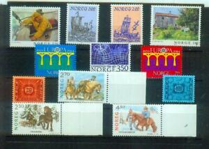 Super Lot Briefmarken aus  Norwegen, postfrisch
