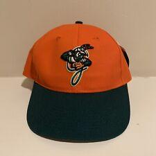 Augusta Greenjackets Minor League Baseball Strapback Hat Cap NWT New With Tags