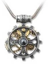 Alchemy Gothic Empire Foundryman's Ring Cross Pendant Necklace Steampunk P606