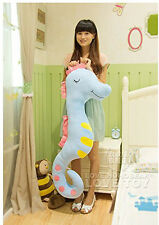 100cm Hippocampus Big Giant Large Stuffed Plush Toy Doll Pillow Valentine Gifts