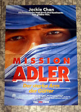 JACKIE CHAN * Mission Adler - VIDEO-POSTER - Ger 1-Sheet ´00 Fei ying gai wak
