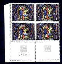 FRANCE - FRANCIA - 1966 - Vitrail de la Sainte-Chapelle Baptême de Judas MNH (B)