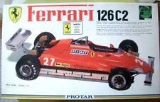 PROTAR 1/12 Ferrari 126C2 plastic model kit