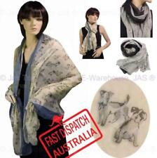 Polyester Rectangle Scarves & Wraps for Women