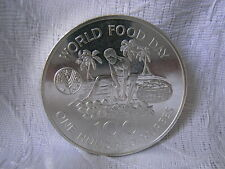 FAO MÜNZE SEYCHELLEN 100 RUPEES 1981 AUS SILBER 925-ER