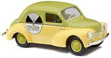 """Busch 46512 HO (1/87e): Renault 4CV """"MAZDA"""""""