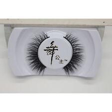 Long Black Handmade Natural Mink Hair Thick Eye Lashes False Eyelashes