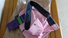 Equi-theme girls pink breeches with grey clarino sticky seat - age 16 yrs.