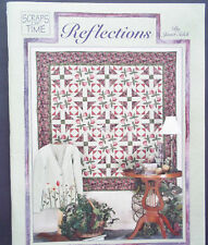 Reflections Scraps of Time Quilt Pattern & Idea Book by Janet Selck