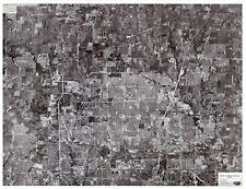 (2) 1993, 2002 B&W aerial photos Frisco, Plano, North Dallas, Allen, TX area