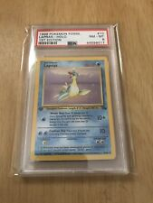PSA 8 Lapras Holo First Edition 1999 Fossil